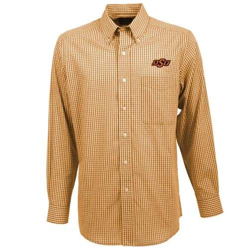 Antigua Men's Oklahoma State University Associate Button-Down Shirt