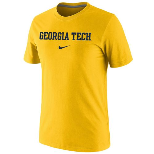 Nike™ Men's Georgia Tech Cotton Short Sleeve T-shirt
