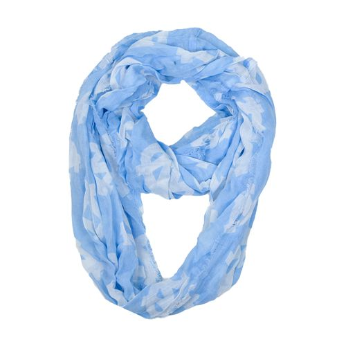 ZooZatz Women's University of North Carolina Logo Infinity Scarf