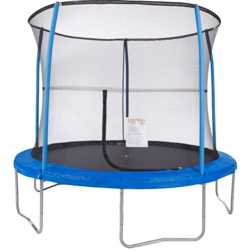 Jump Zone™ 10' Round Trampoline with Enclosure