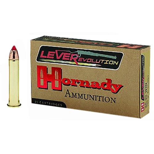 Hornady LeverEvolution .450 Marlin 325-Grain Centerfire Rifle Ammunition