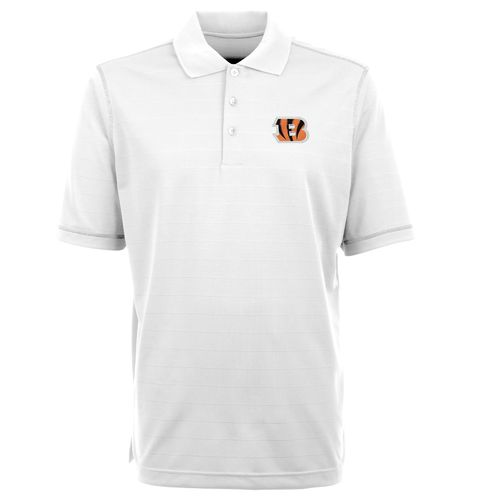 Antigua Men's Cincinnati Bengals Icon Polo Shirt