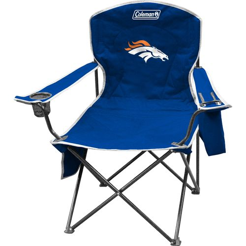 Coleman® Denver Broncos Cooler Quad Chair