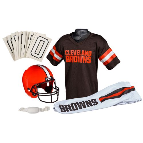 Franklin Kids' Cleveland Browns Deluxe Uniform Set