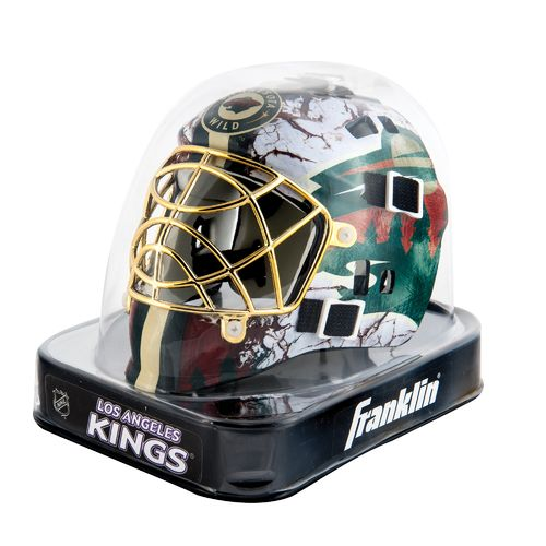 Franklin NHL Team Series Minnesota Wild Mini Goalie Mask - view number 2