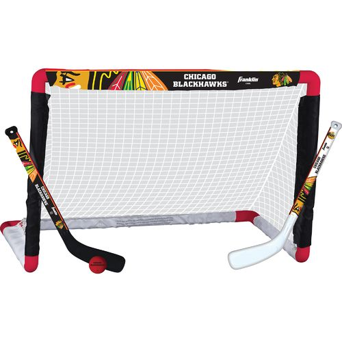 Franklin Chicago Blackhawks Mini Hockey Goal Set