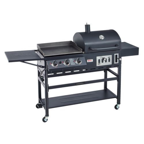 Display product reviews for Outdoor Gourmet Pro™ Triton Charcoal Grill/Gas Griddle