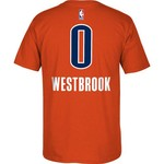 adidas Men's Oklahoma City Thunder Russell Westbrook #0 7 Series T-shirt