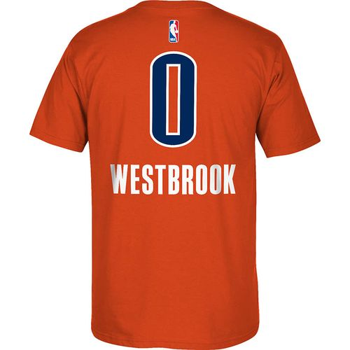 adidas™ Men's Oklahoma City Thunder Russell Westbrook #0 7 Series T-shirt