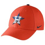 Nike Adults' Houston Astros Dri-FIT Classic Swoosh Flex Cap
