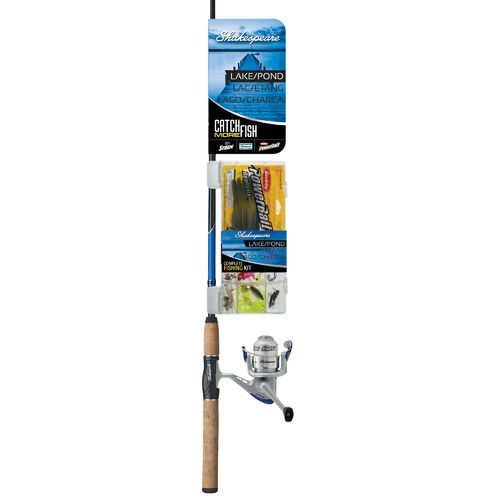 Shakespeare® Ugly Stik® 6' Freshwater Catch More Fish-Lake/Pond Spinning Rod and Reel - view number 4