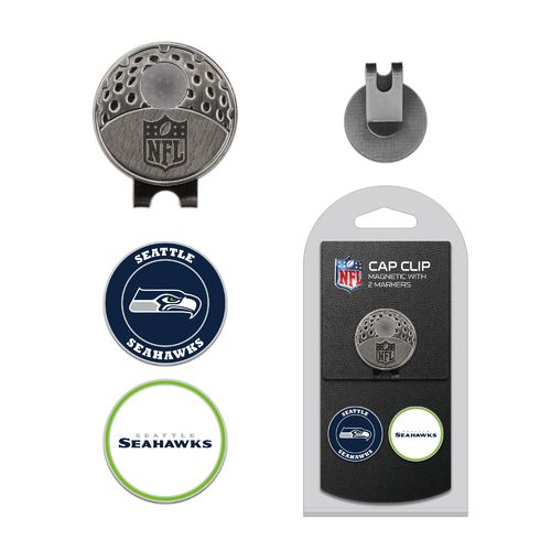Team Golf Seattle Seahawks Marker Cap Clip - view number 1