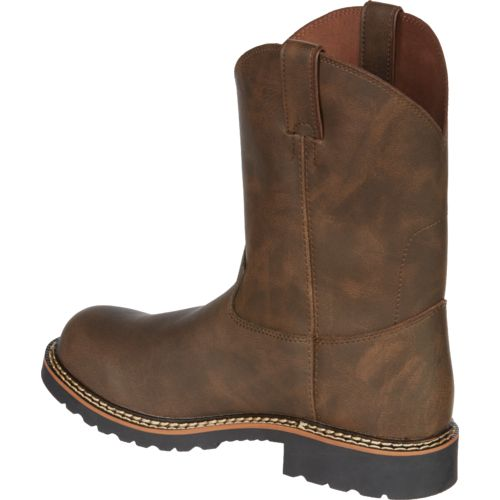 Justin Kids' Bay Gaucho Cowhide Western Boots - view number 3