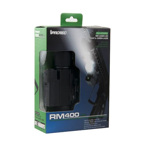 iProtec RM400 LED Firearm Light with Laser - view number 2