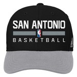 adidas™ Boys' San Antonio Spurs Adjustable Practice Cap
