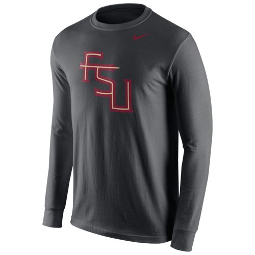 Nike Men's Florida State University Cotton Long Sleeve