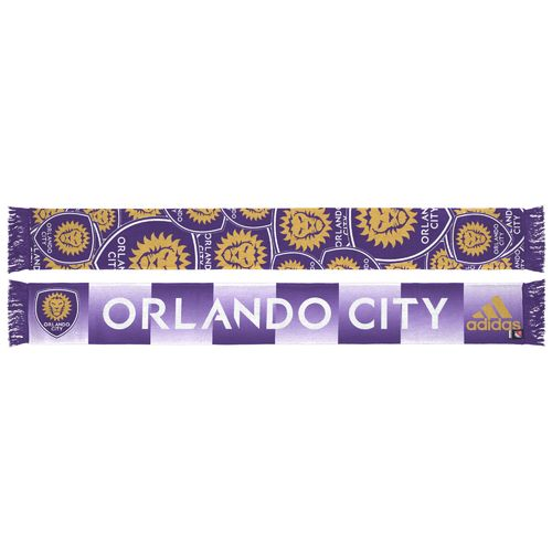 adidas Men's Orlando City SC Sublimated Scarf - view number 1
