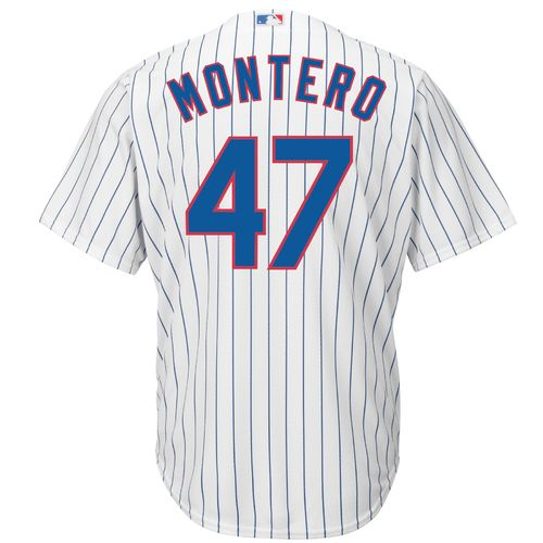 Majestic Men's Chicago Cubs Miguel Montero #47 Cool Base Replica Jersey