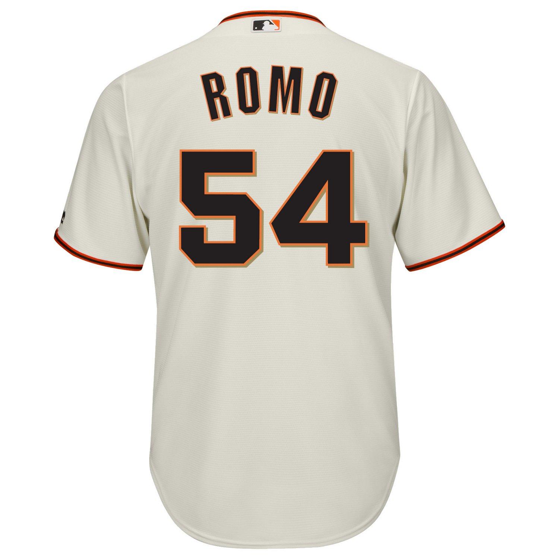 Majestic Men's San Francisco Giants Sergio Romo #54