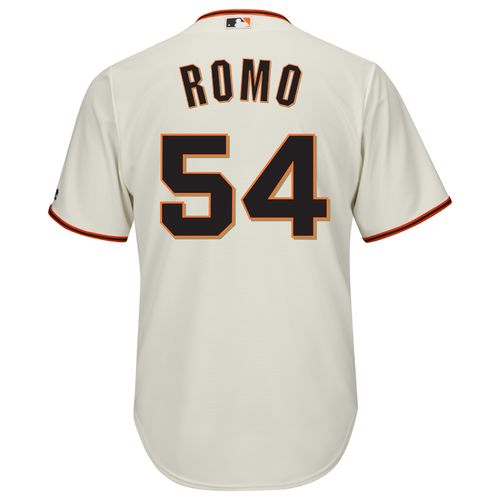 Majestic Men's San Francisco Giants Sergio Romo #54 Cool Base Replica Jersey