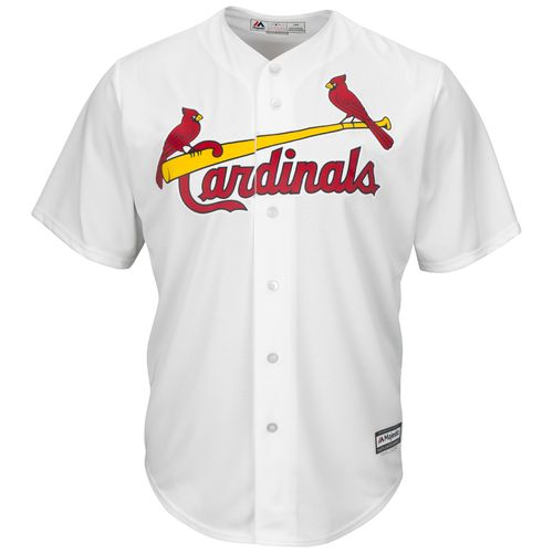 Display product reviews for Majestic Men's St. Louis Cardinals Cool Base Replica Jersey