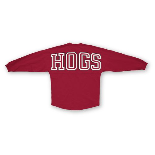 Three Squared Juniors' University of Arkansas Big Time Outline Sweeper T-shirt