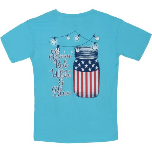 Royce Juniors' Americana Shine Patriotic T-shirt