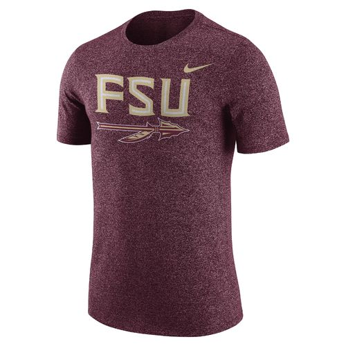 Nike Men's Florida State University Marled Logo T-shirt