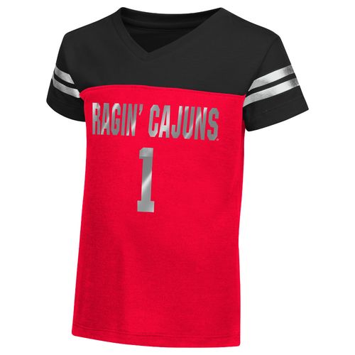 Colosseum Athletics™ Toddler Girls' University of Louisiana at Lafayette Nickle T-shirt