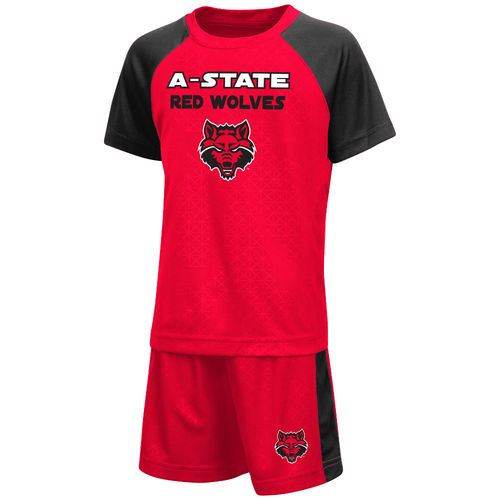 Colosseum Athletics™ Toddler Boys' Arkansas State University Gridlock T-shirt and Short Set