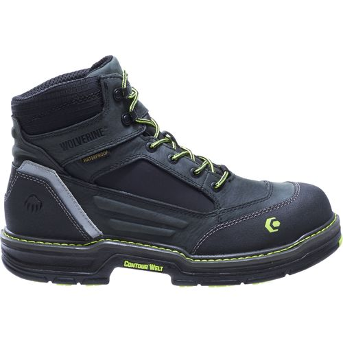 Wolverine Men's Overman Waterproof CarbonMax Work Boots