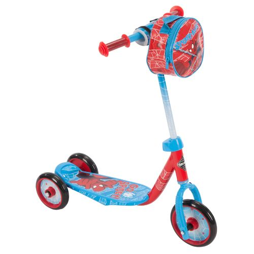 Display product reviews for Huffy Boys' Spider-Man 3-Wheel Scooter