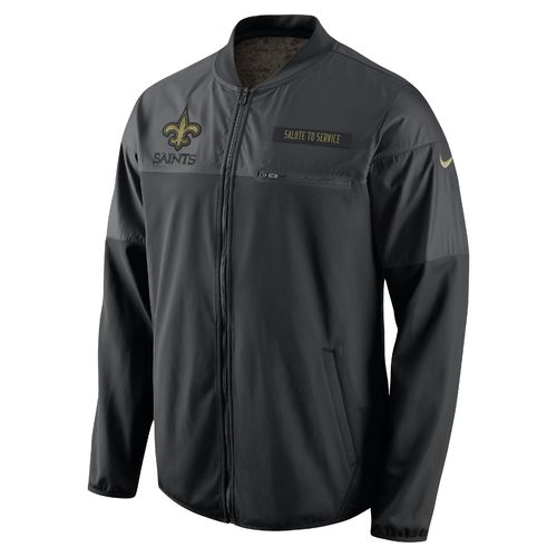 Nike Men's New Orleans Saints STS Hybrid Jacket