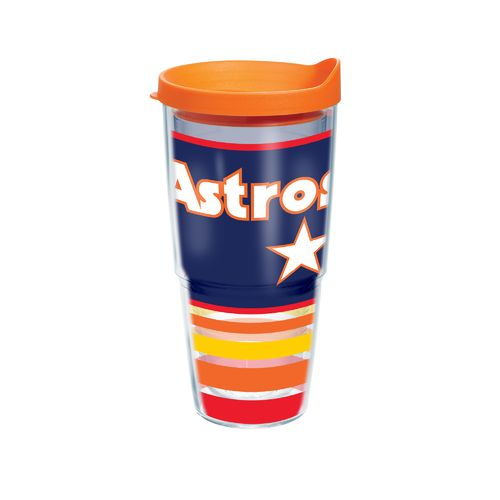 Tervis Houston Astros Retro Stripes 24 oz. Tumbler with Lid