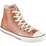 Converse Girls' Chuck Taylor All Star Leather Shearling Hi Shoes - view number 2