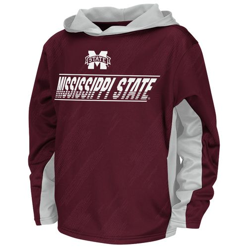 Colosseum Athletics™ Juniors' Mississippi State University Sleet Pullover Hoodie