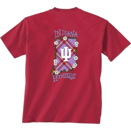 New World Graphics Women's Indiana University State Bright