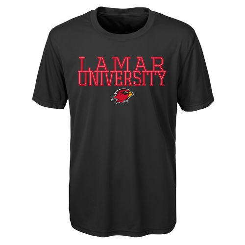 Gen2 Toddlers' Lamar University Overlap Poly T-shirt