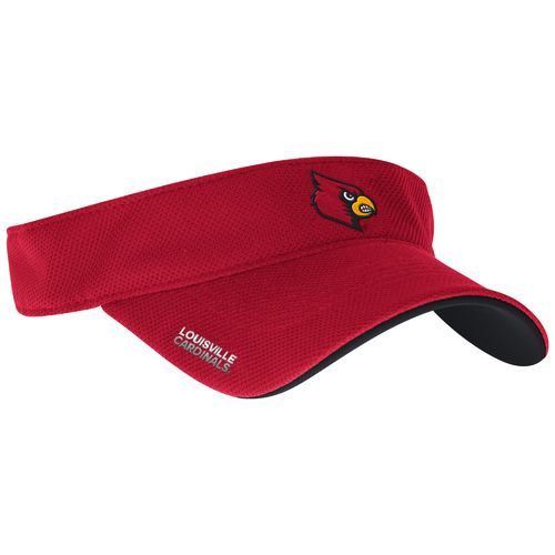 adidas™ Men's University of Louisville Spring Game Sideline Adjustable Visor