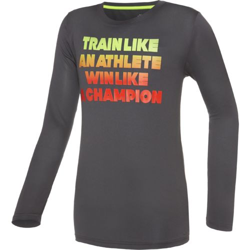 BCG™ Boys' Train Like an Athlete Long Sleeve T-shirt