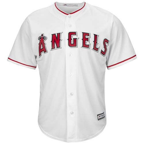 Majestic Men's Los Angeles Angels Mike Scioscia #14 Cool Base® Home Jersey - view number 3