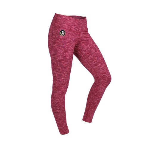 ZooZatz Women's Florida State University Space Dye Legging