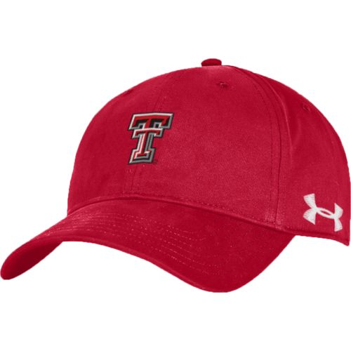 Under Armour™ Men's Texas Tech University Chino Soft Structured Cap