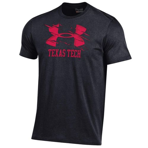 Under Armour™ Men's Texas Tech University Charged Cotton® T-shirt