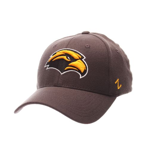 Zephyr Men's University of Southern Mississippi Charcoal Flex Cap