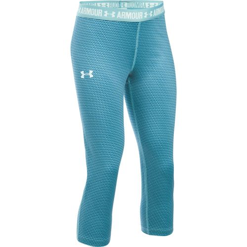 Under Armour Girls' UA Printed Capri Pant