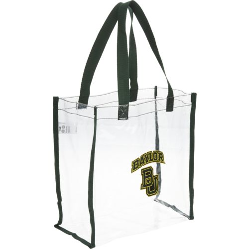Team Beans Baylor University Clear Reusable Bag