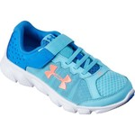 Under Armour Girls' Pre-School Assert 6 Running Shoes - view number 2