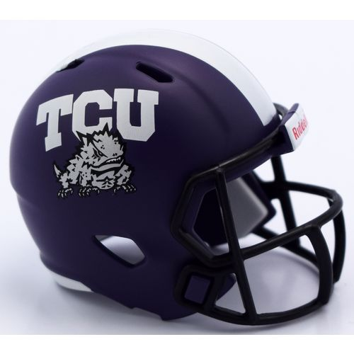 Riddell™ Texas Christian University Speed Pocket-Size Helmet