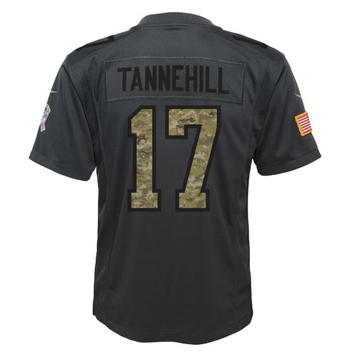 Nike Boys' Miami Dolphins Ryan Tannehill Salute to Service Replica Jersey